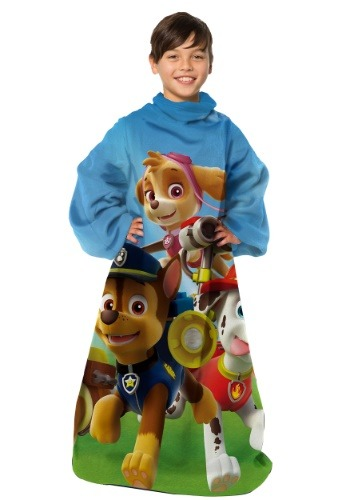 Paw Patrol Race to Rescue Child Comfy Throw