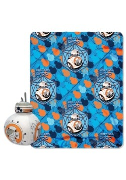 BB-8 Character Pillow with Throw