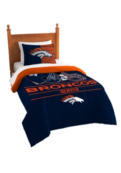 Denver Broncos Twin Comforter Set