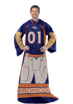 Denver Broncos Uniform Comfy Throw
