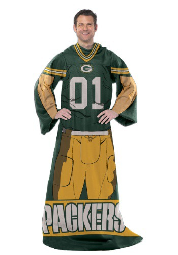 Green Bay Packers Uniform Comfy Throw