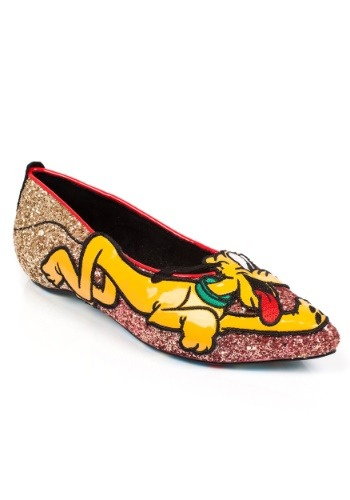 Irregular Choice Disney Pluto Flats