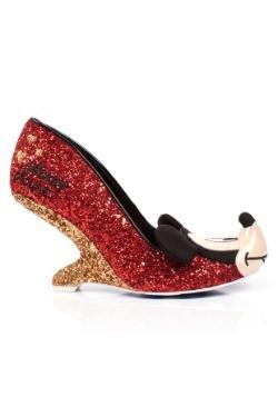 Irregular Choice Disney Oh Boy Glitter Mickey Backless Heels