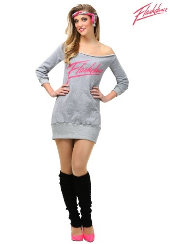 Women's Flashdance Plus Size Costume
