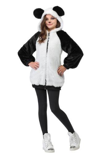 Girl's Panda Hoodie