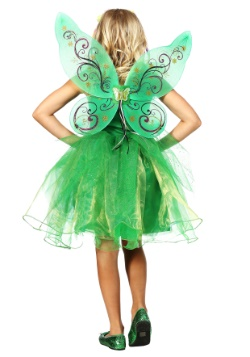 Garden Fairy Costume For Girls alt 1