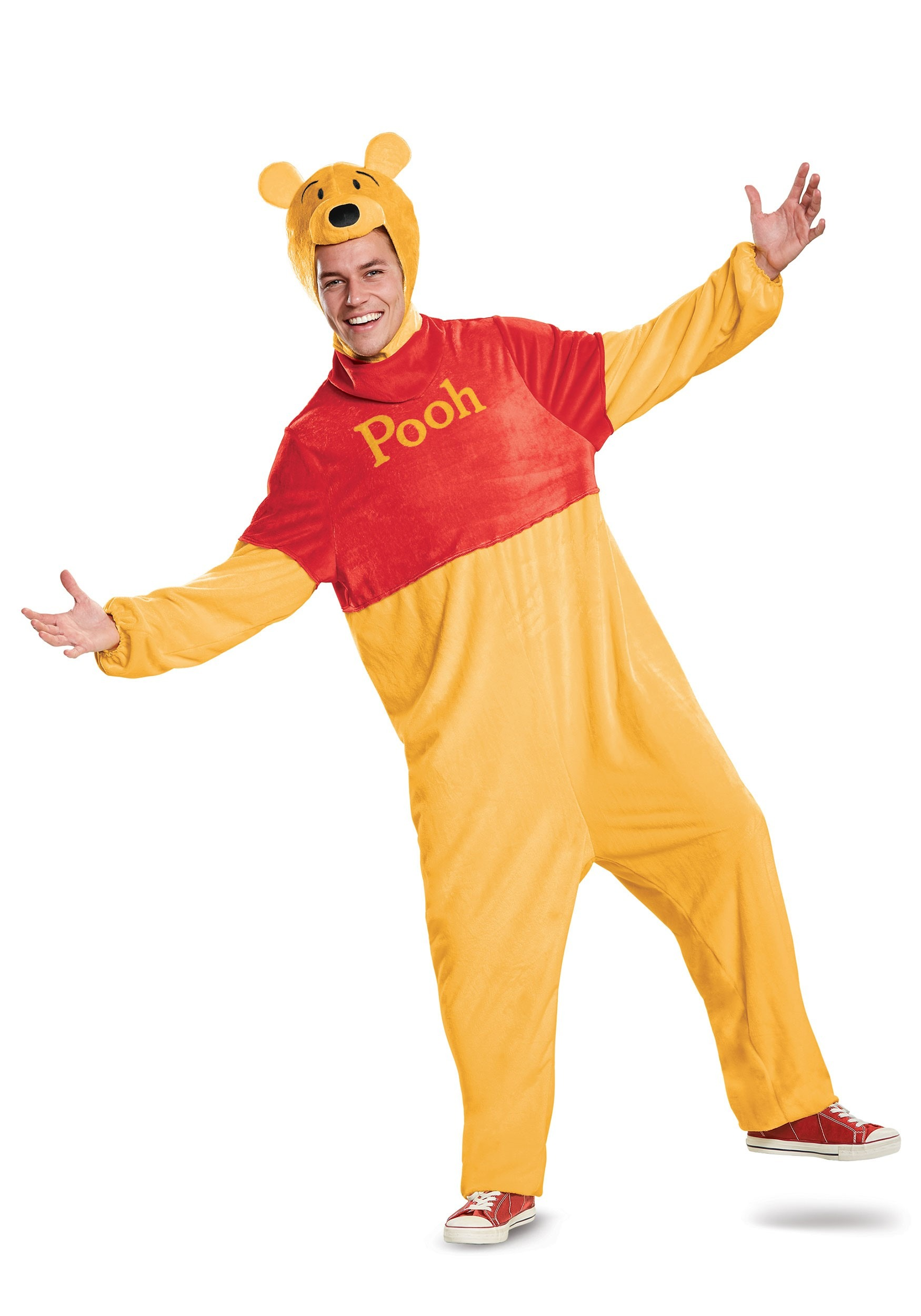 Deluxe Winnie the Pooh Costume for Adults