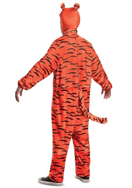 Tigger Deluxe Adult Costume Alt 7