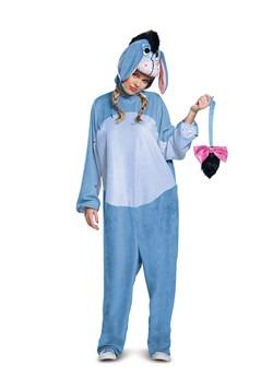 Eeyore Deluxe Adult Costume Alt 1