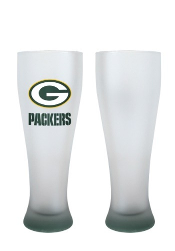 Green Bay Packers 23oz Frosted Pilsner