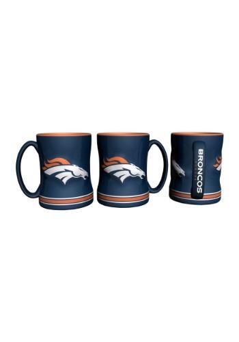 14oz Denver Broncos Sculpted Relief Mug