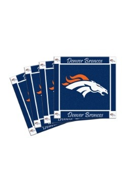 Denver Broncos 4-Pack Ceramic Coaster