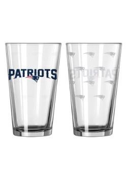 16oz New England Patriots 2-Pack Pint Set