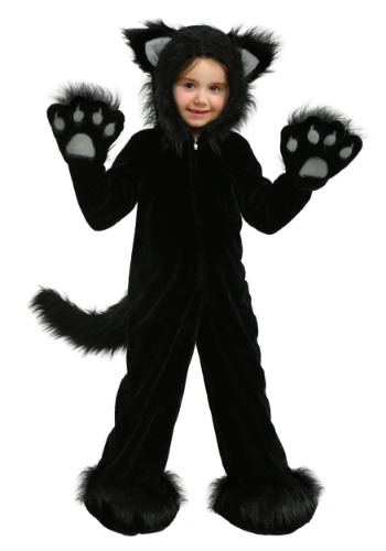 Kids Premium Black Cat Costume