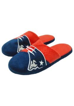 NFL New England Patriots Colorblock Slide Slippers