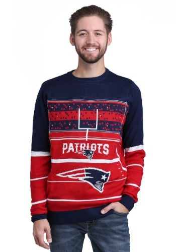 New England Patriots Stadium Light Up Sweater