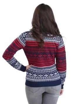 New England Patriots Big Logo Aztec Sweater