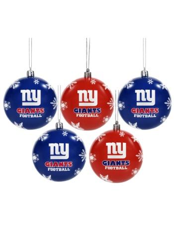 New York Giants Ornament Set