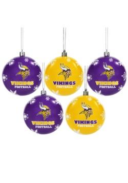 Minnesota Vikings Ornament Set