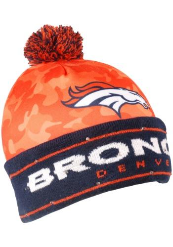 NFL Denver Broncos Camouflage Stocking Hat