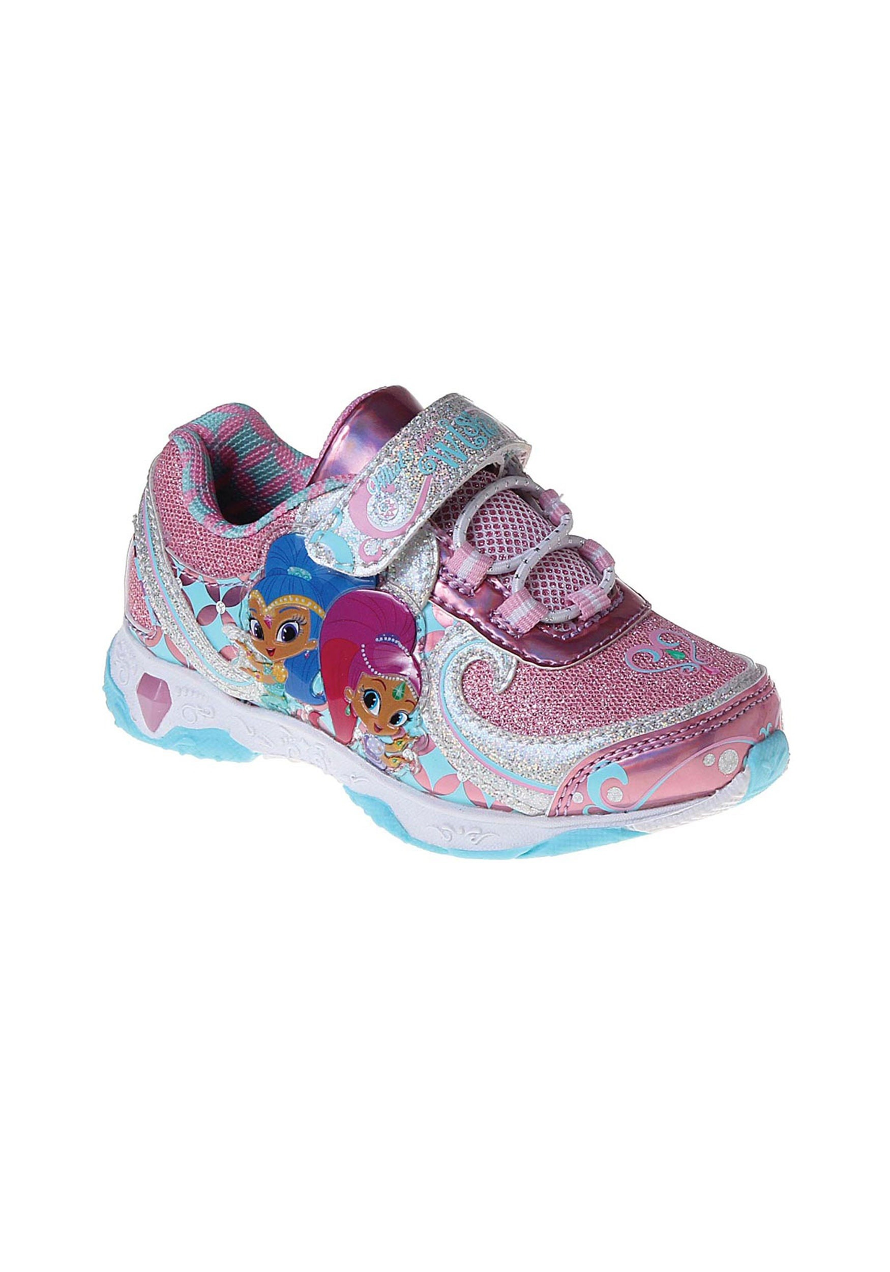 Shimmer and Shine Light Up Sneakers for Girls