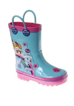 Paw Patrol Skye and Everest Girls Rain Boots