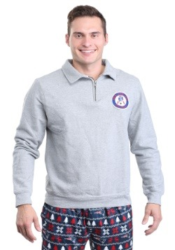 New England Patriots Side Line Sweater Mens