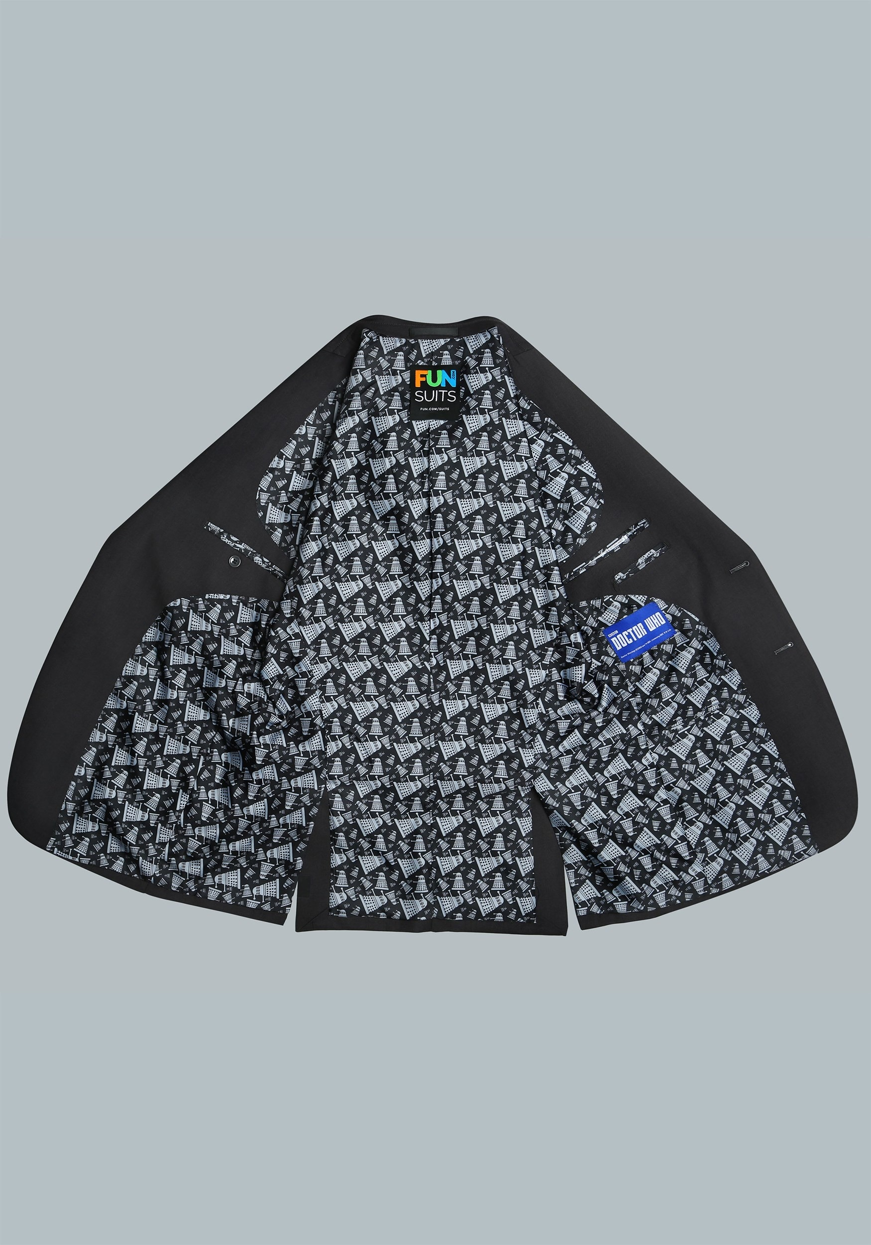 Doctor Who Dalek Subtle Suit Jacket
