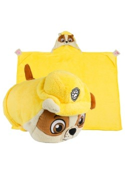 Paw Patrol Rubble Comfy Critter Blanket