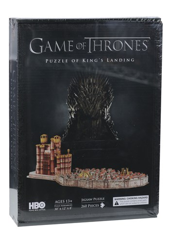 Game of Thrones King's Landing 3D Jigsaw Puzzle