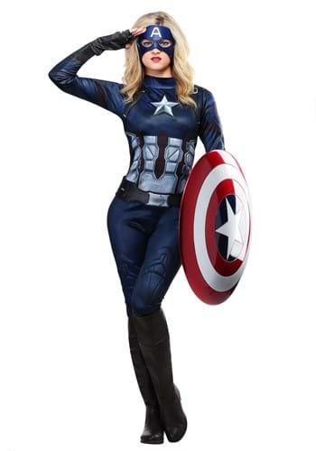 Captain America Girls Costume