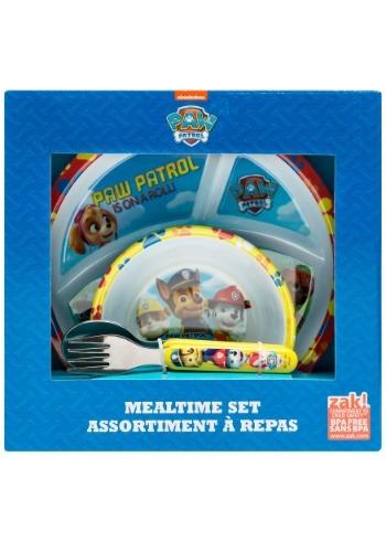 Paw Patrol Group Shot 4 Pc Mealtime Set