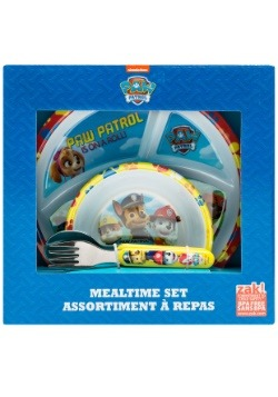 Paw Patrol Group Shot 4 Pc Mealtime Set