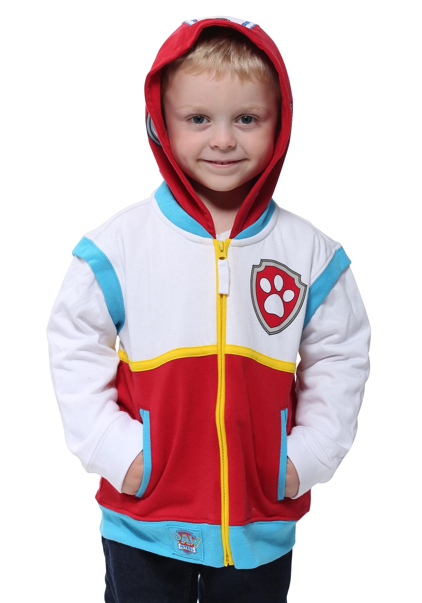 ryder paw patrol costume hoodie for kids. Black Bedroom Furniture Sets. Home Design Ideas