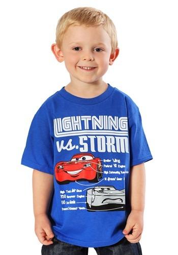 Cars 3 Lightning vs Storm Boys T-Shirt