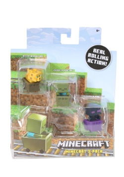 Minecraft Zombie Pigman, Diamond Steve, Mooshroom Figure Set