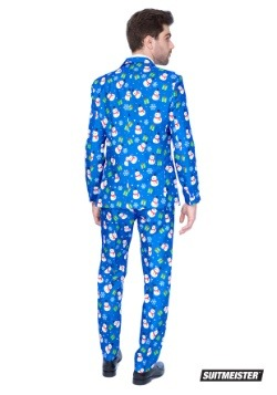 Men's Blue Snowman Suitmiester