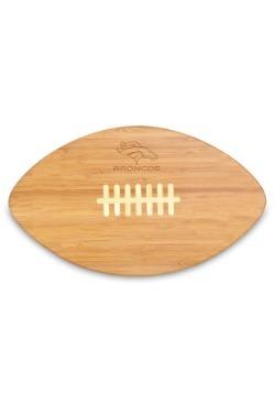 Denver Broncos 'Touchdown!' Football Cutting Board