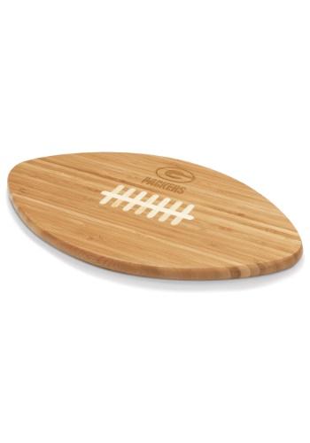 Green Bay Packers 'Touchdown!' Football Cutting Board