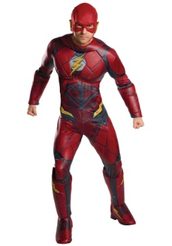 Justice League Adult Deluxe Flash Costume