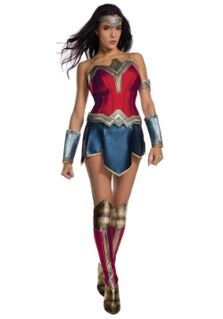 Justice League Adult Deluxe Wonder Woman Costume