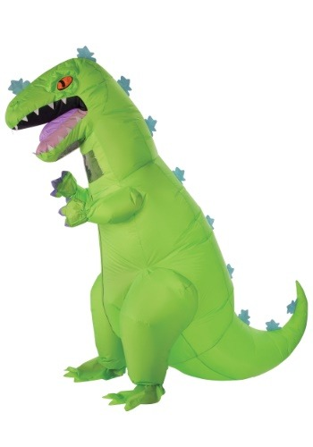 Adult Inflatable Rugrats Reptar Costume