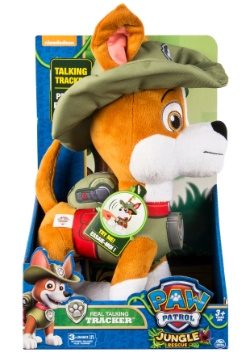 Paw Patrol Tracker Talking Plush