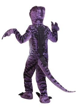 Child Ravenous Raptor Costume Alt 8