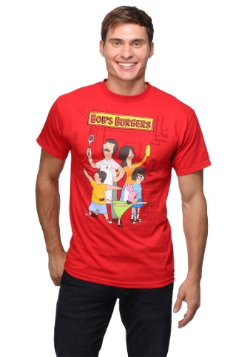 Bob's Burgers Family Portrait 18/1 T-Shirt
