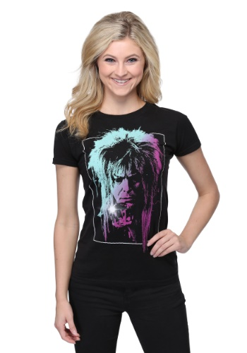 Juniors Labyrinth Jareth T-Shirt