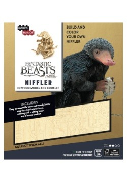 Fantastic Beasts Niffler 3D Wood Model & Booklet