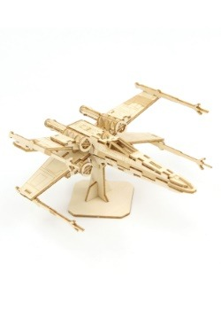 Star Wars X-Wing 3D Wood Model & Booklet