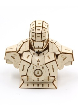 Iron Man Bust 3D Wood Model & Booklet
