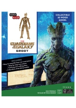 Groot 3D Wood Model & Booklet